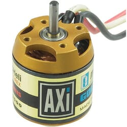 Motor Brushless AXI 2217/5H para helicoptero