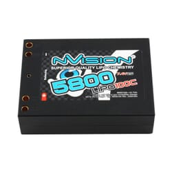 Lipo Saddle Block Factory Pro 5800 100C 7.4V