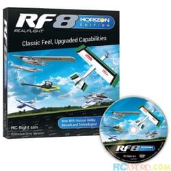 Simulador Rc Realflight 8.0 solo software