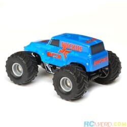1/28 Micro Ruckus 2WD Monster Truck RTR, Azul