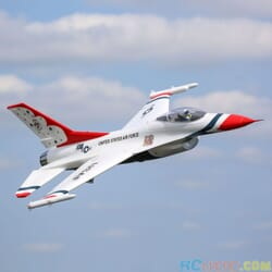 Eflite F-16 70mm EDF Jet BNF Basic SAFE