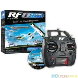 Simulador Rc Realflight 8.0 Horizon Edition con radio