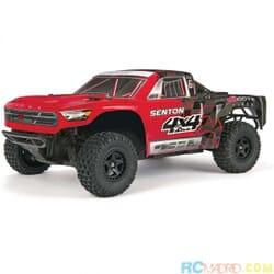 SENTON 4x4 Mega SC Brushed Truck RTR, Rojo
