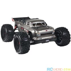 1/8 OUTCAST 6S BLX 4WD Brushless Stunt Truck RTR, Plata
