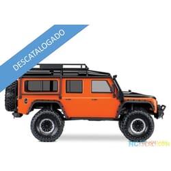 Traxxas TRX4 Land Rover Defender Naranja RTR