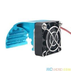 Disipador 1/8 lateral con ventilador 40x40