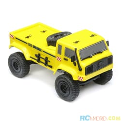 1/24 Barrage UV 4WD Crawler RTR, Amarillo