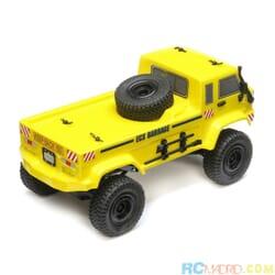 1/24 Barrage UV 4WD Crawler RTR, Amarillo
