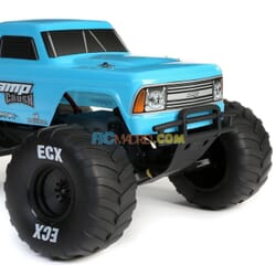 1/10 AMP Crush 2WD Monster Brushed RTR Azul