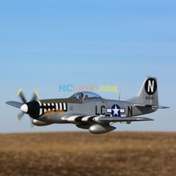 P-51D Mustang 1.2m BNF & SAFE
