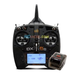 Emisora Spektrum DX6e DSMX + AR620