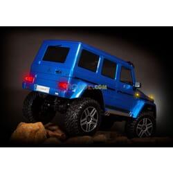 Traxxas TRX4 Mercedes G500 Azul con luces