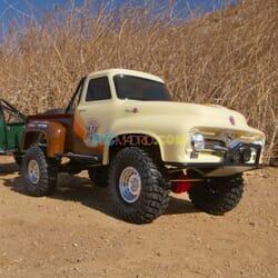 Axial Ford F-100 Truck 4WD 1/10 SCX10 II 1955 Marron