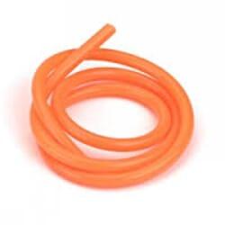 Tubo silicona neon Naranja 1 m