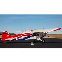 "Hangar9 Carbon Cub FX-3 100-200cc ARF, 165"""