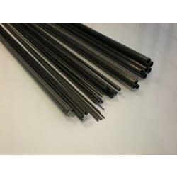 Varilla maciza fibra de carbono de 2.0 x 1 m