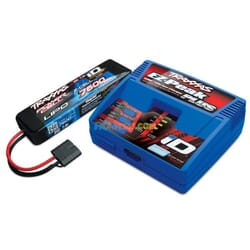 Battery/Charger Completer Pack (Includes 2970 Id Charger (1) 2869X 7600Mah 7.4V 2-Cell 25C Lipo Battery (1))
