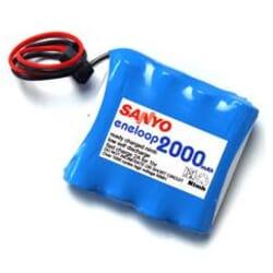 Pack Bateria Eneloop 2000 mAh AA 4.8 V Rx Futaba