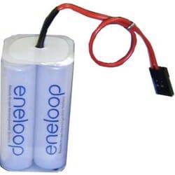 Pack Bateria Eneloop 2000 mAh AA 4.8 V Rx JR cubo