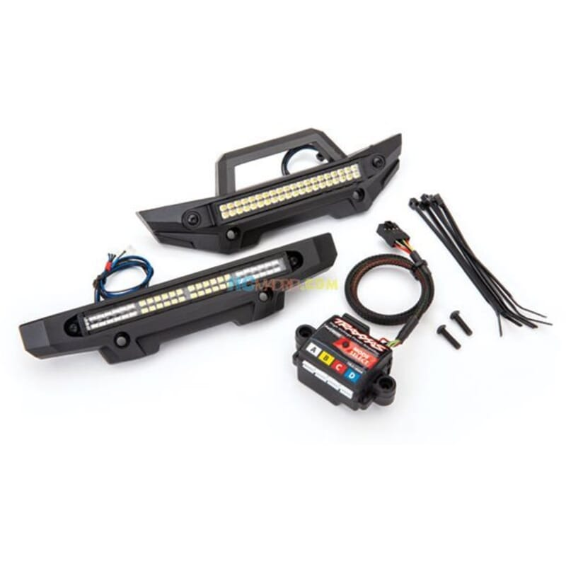 LED light kit Maxx complete (includes 6590 high-voltage power amplifier)
