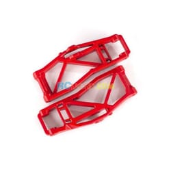Suspension arms lower red (left and right front or rear) (2) (for use with 8
