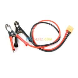 Cable Alim. CC Cocodrilo a XT60 Macho
