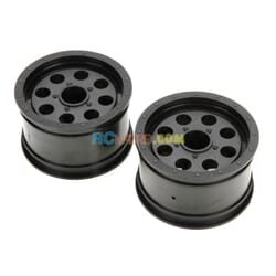Wheel Ruckus Front/Rear Black (2)