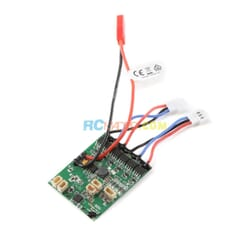 AS6410NBLT RXDSMX 6-Ch AS3X wTwin Brushless ESC