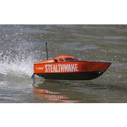 Stealthwake 23-inch Deep-V Brushed: RTR