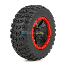 Left & Right Tire (1ea)  Premounted  1 5 4wd