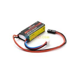 300mAh 2S 6.6V Li-Fe Receiver Battery