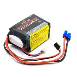 4000mAh 2S 6.6V Li-Fe Receiver Battery
