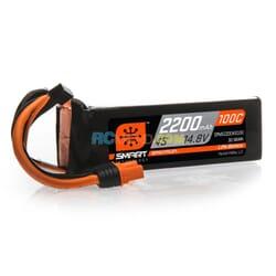 2200mAh 4S 14.8V 100C Smart Bateria Lipo  IC3
