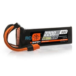 2200mAh 4S 14.8V 50C Smart Bateria Lipo  IC3