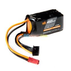 450mAh 4S 14.8V 50C Smart LiPo bateria  JST