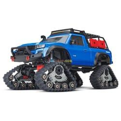 Traxxas TRX 4 Sport con Orugas TQ XL 5 (no bateria ni cargador), Azul