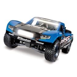 Traxxas Unlimited Desert Racer 4WD incl LED, TQi VXL 6S (no bat/cargr), TRX Azul