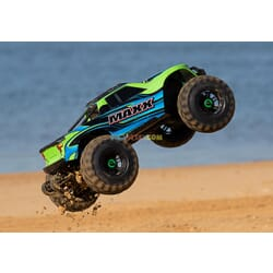 Traxxas Maxx 1/10 Scale 4WD Brushless electrico Monster Truck, VXL 4S, TQi   VerdeX