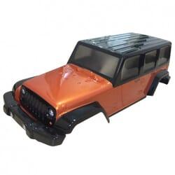 Carroceria crawler 1/10 sin pintar Jeep Wrangler