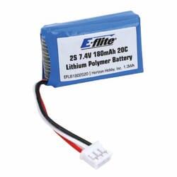 Bateria lipo 7.4 V 180 mAh 20C Eflite