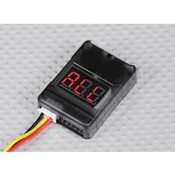 Monitor de Baterias 2S a 8S (Salvalipos) Cell Checker with Low Voltage Alarm