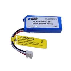 Bateria Lipo E-flite 200mAh 2S 7.4V 25C