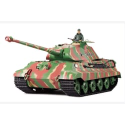Tanque 1/16 King Tiger Porsche con humo y sonido (6mm Shooter)