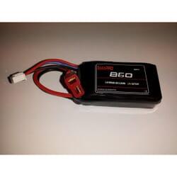 Bateria Lipo Max pro 860 mAh 7.4 2s 30C