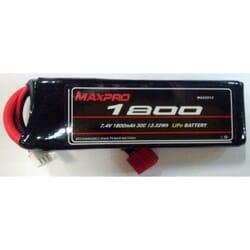 Bateria Lipo Max pro 1800 mAh 7.4 2s 30C