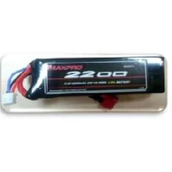 Bateria Lipo Max pro 2200 mAh 7.4 2s 30C