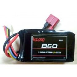 Bateria Lipo Max pro 860 mAh 11.1 3s 30C