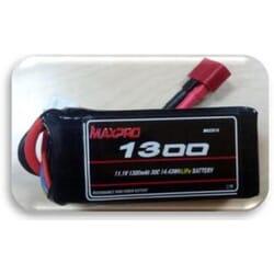 Bateria Lipo Max pro 1300 mAh 11.1 3s 30C