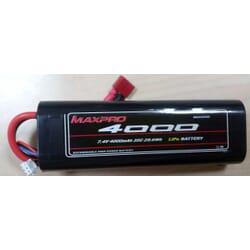 Bateria Lipo Max pro 4000 mAh 7.4 2s 35C