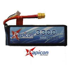 Lipo Rapicon 11.1V 3500mAh 3S 30C